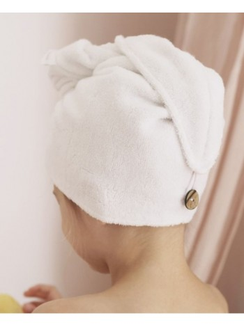 Полотенце (чалма) для сушки волос (выкройка)