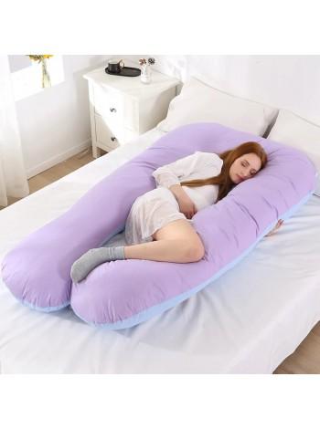 U  (подкова) подушка для беременных  с ластовицей (выкройка)