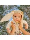 Чепчик детский с ушками р.36 (выкройка)