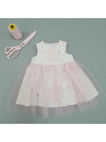 Платье праздничное р.80(выкройка)